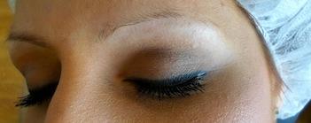 3d ögonbryn efterbehandling