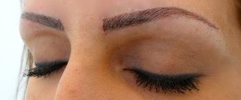 kosmetisk tatuering ögonbryn malmö